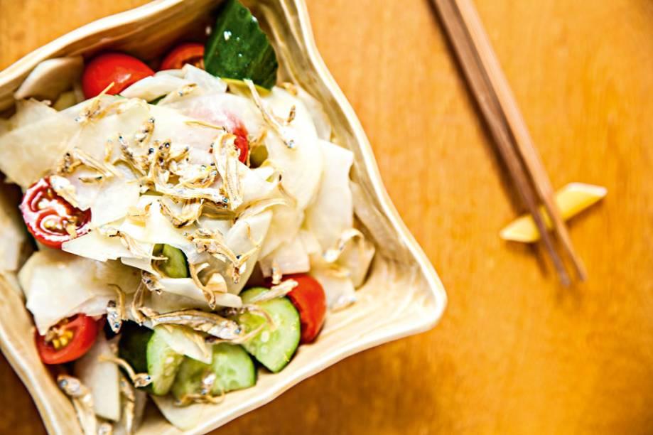 Salada de mamão