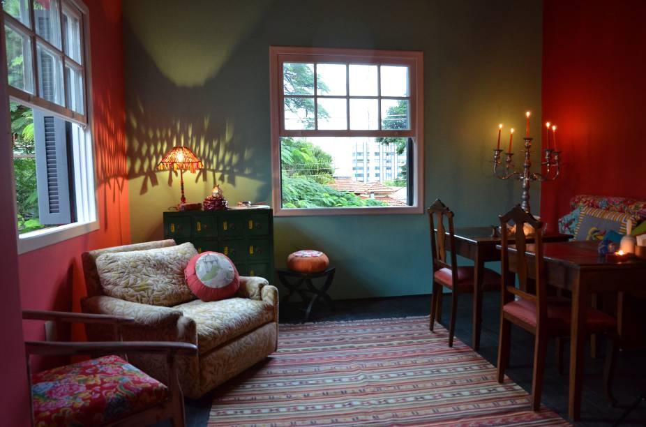 Bistrô Ó-Chá: novo salão