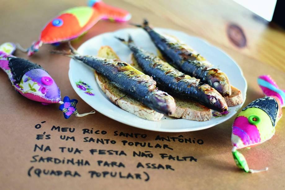 Da churrasqueira: sardinhas