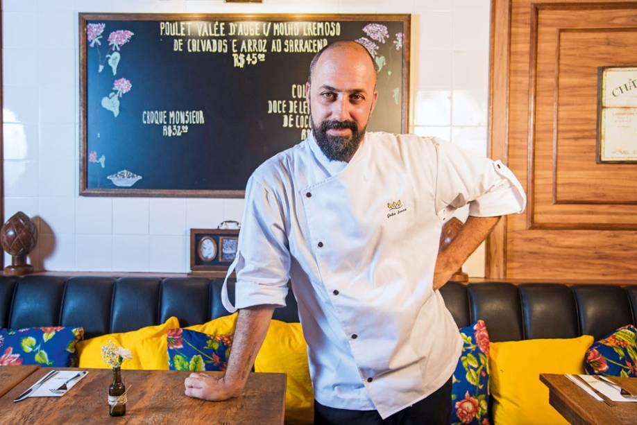 O chef Souza
