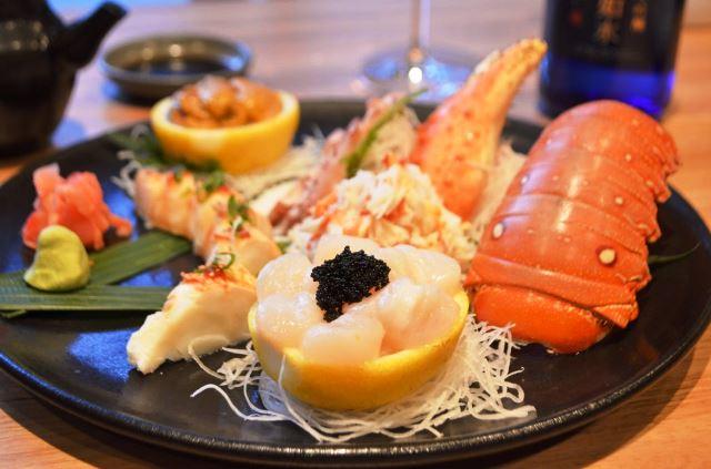 Sashimi Frutos do Mar
