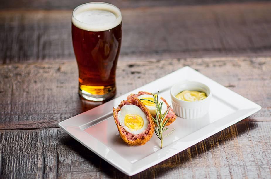 Scotch egg: a versão inglesa do bolovo