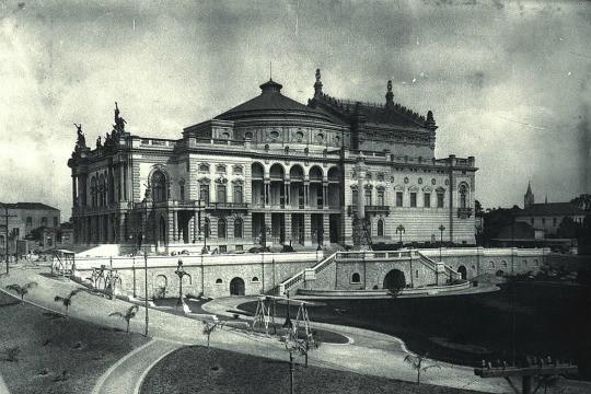 Teatro Municipal: sede dos eventos realizados em fevereiro de 1922