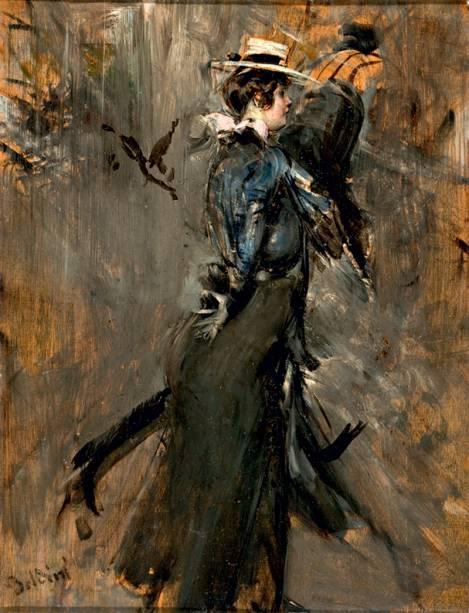 Senhora com Chapéu de Palha