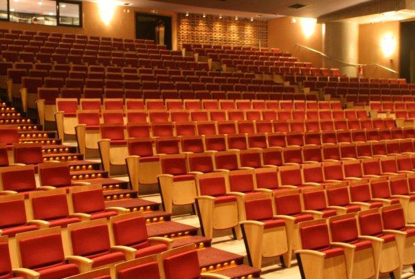 Teatro Paulo Autran, com mais de mil lugares no Sesc Pinheiros