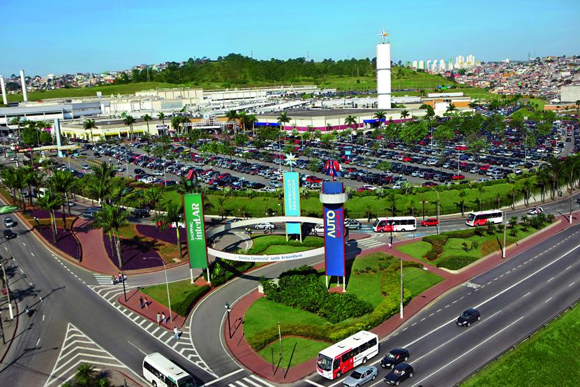 Shopping Aricanduva: espaço com cerca de 15.000 vagas de estacionamento