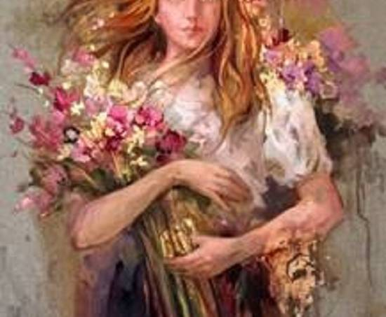 Mulheres e Flores da Primavera – Simone Campos – Luz das Flores