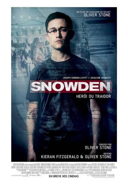 Pôster do filme Snowden - Herói ou Traidor