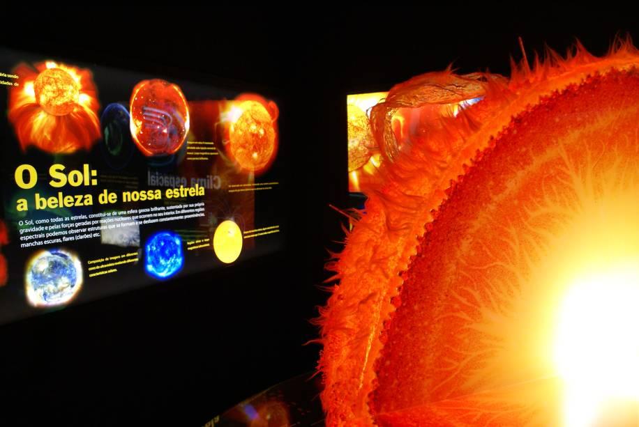 Representação do Sol: aulas sobre o sistema solar