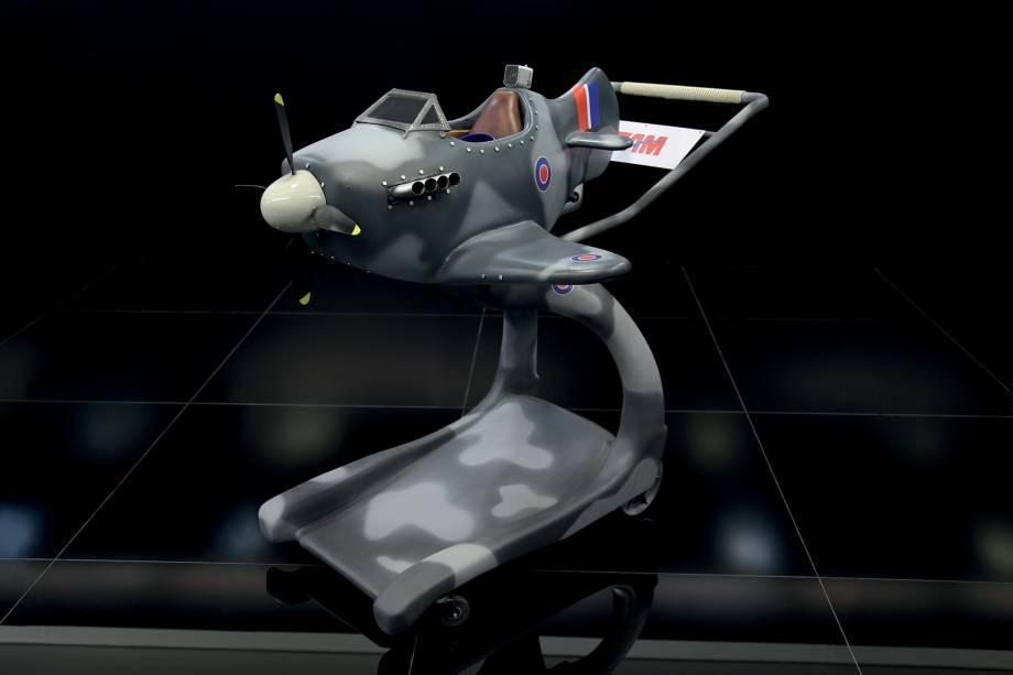Réplica Supermarine Spitfire: caça britânico mais famoso da Segunda Guerra Mundial