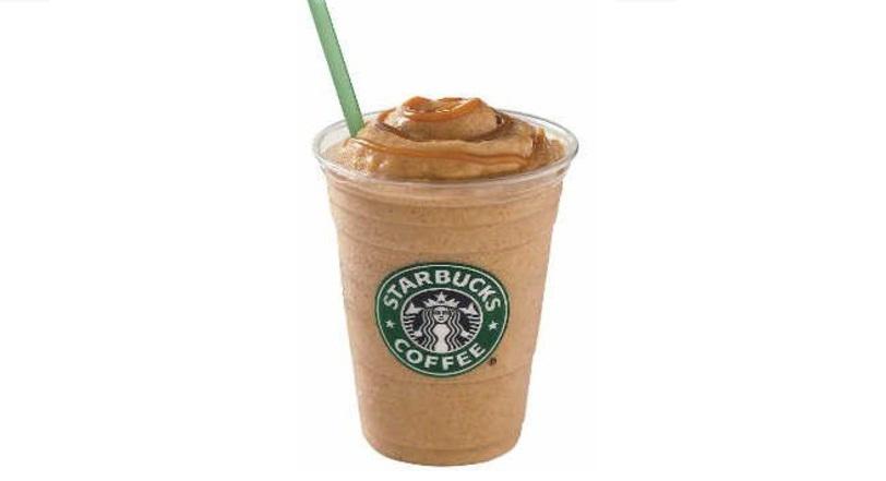 Caramelo frapuccino Starbucks