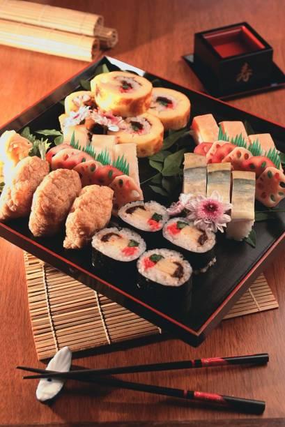 Sushis em estilo medieval no Sushi Kiyo
