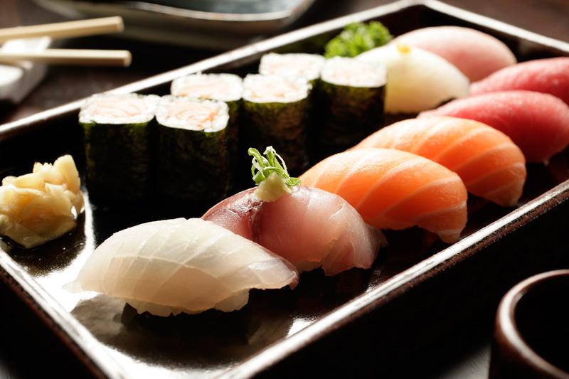 Sushis variados