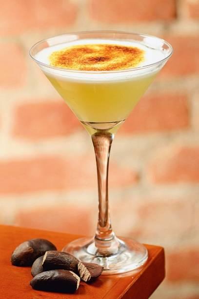 Suspiro martíni: lembra um pisco sour