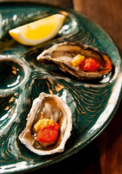 A dupla de ostras à moda