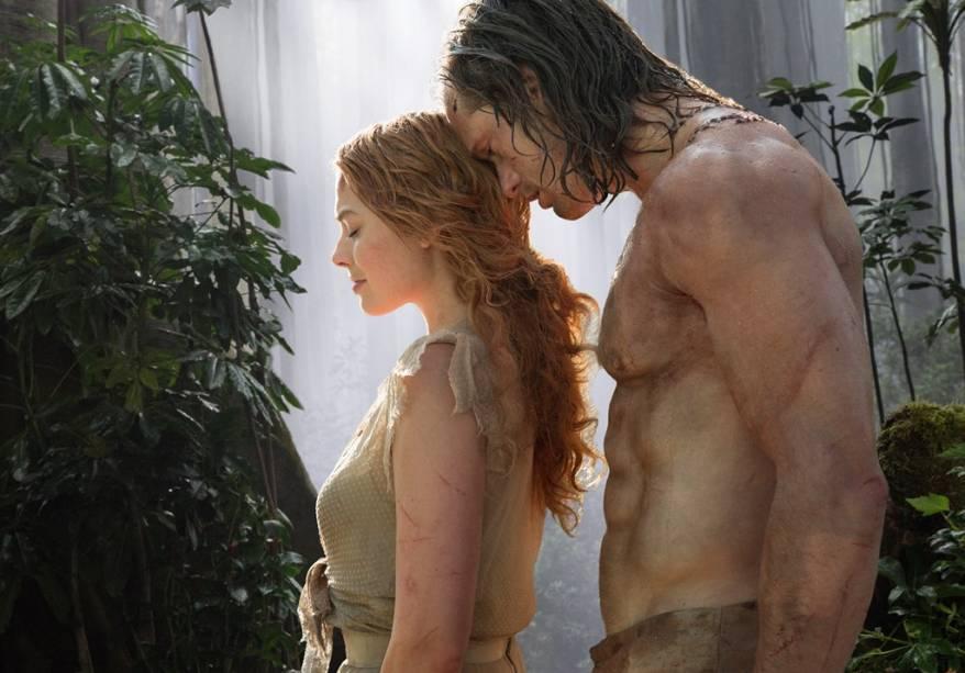 A Lenda de Tarzan: Margot Robbie e Alexander Skarsgård