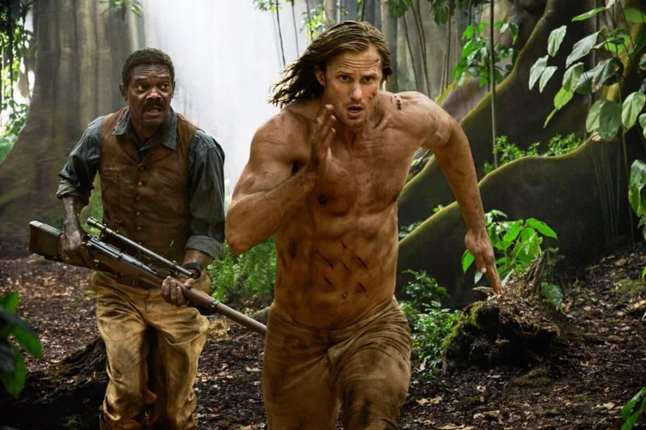 A Lenda de Tarzan: longa traz o personagem para a civilização e pouco mostra sua criação na selva