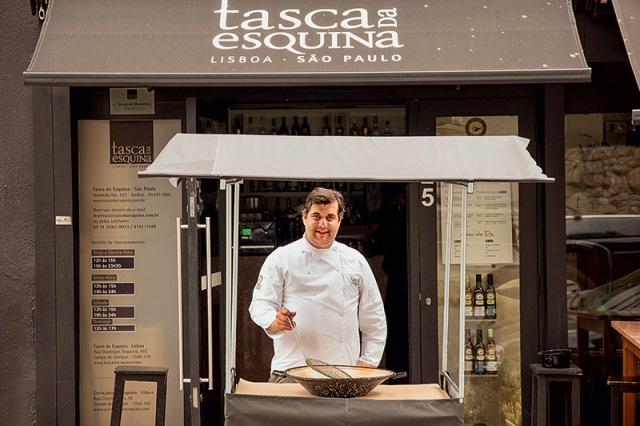 O chef Luis Espadana: evento uma vez por mês
