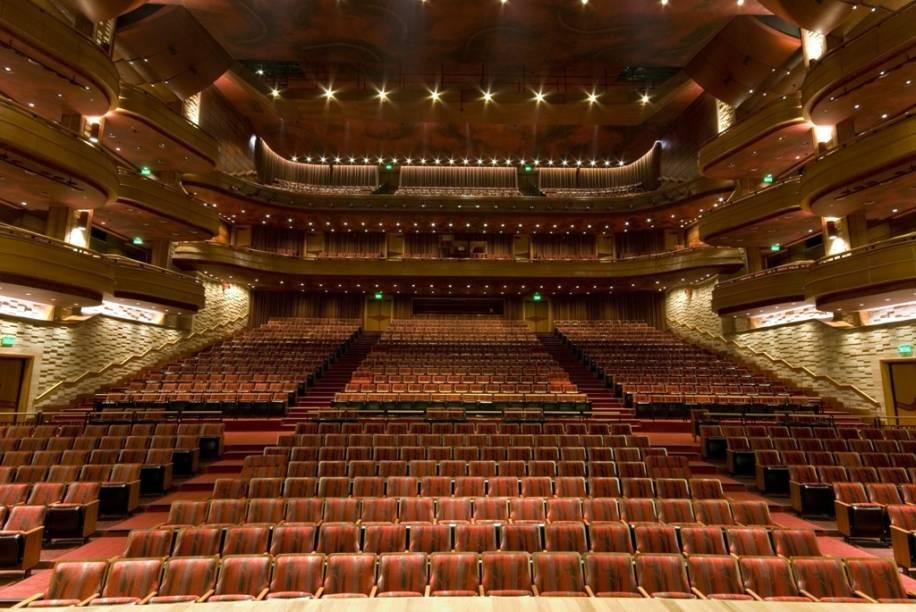 Teatro Bradesco: espaço para shows e peças oferece 1457 lugares