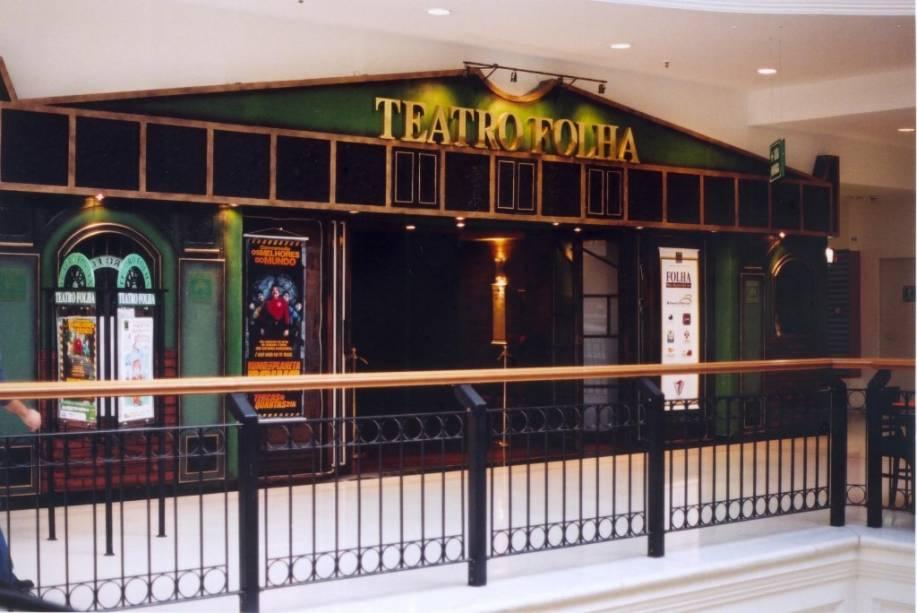 Teatro Folha: localizado no Shopping Higienópolis, o teatro comporta até 305 convidados