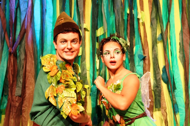 As Aventuras de Peter Pan e Sininho