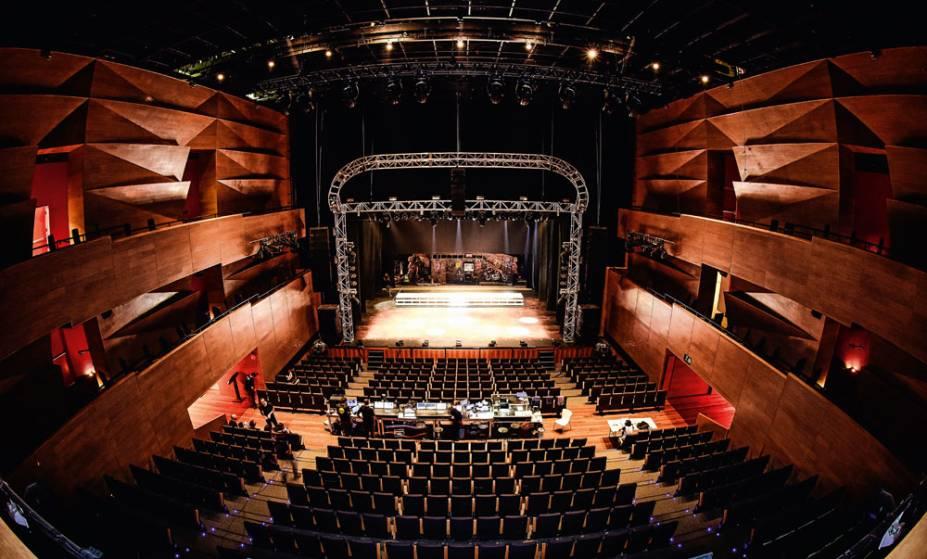 Casa de espetáculos de São Paulo: Teatro Santander