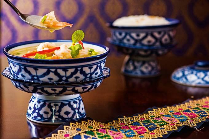 Thai Chef – kang kiaw wan de camarão