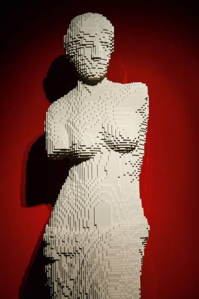 Esculturas de Lego assinadas pelo artista americano Nathan Sawaya