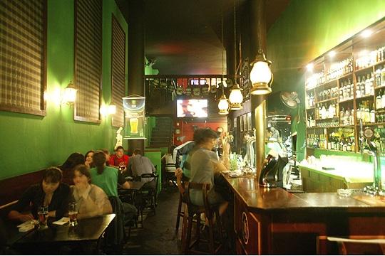 The Pub é autêntico e recebe público descolado na região da Augusta