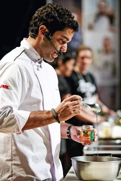 O chef Thiago Castanho: teoria e prática