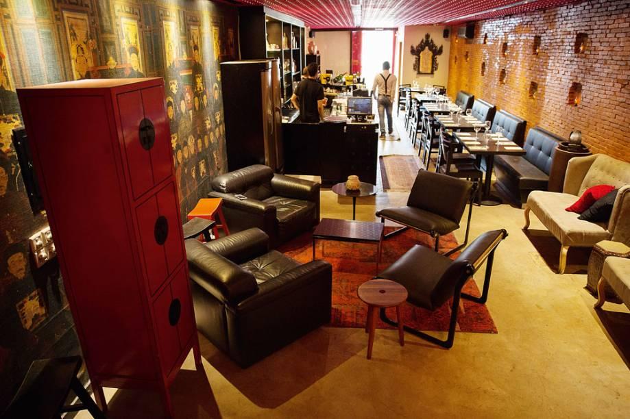 Novo ambiente: o salão tem uma agradável área para espera