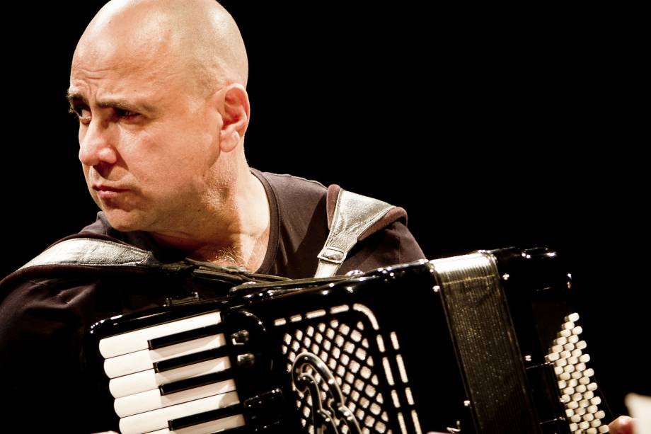 O músico Toninho Ferraguti