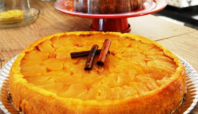 Polska 295 Café & Pierogi – torta de maçã