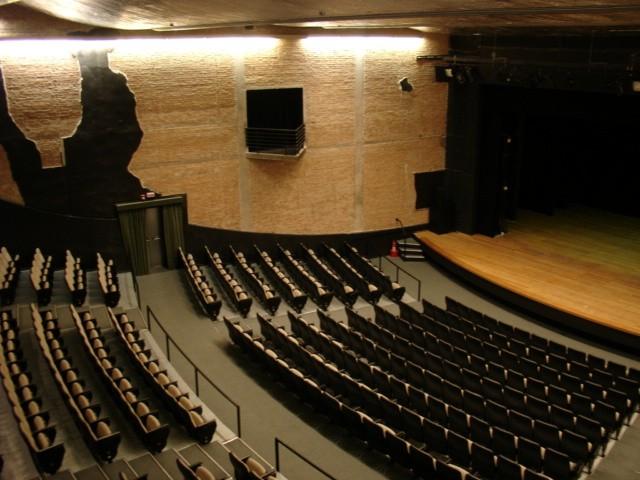 Teatro Tuca: espaço acomoda 672 lugares