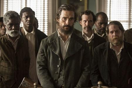 Matthew McConaugheye os aliados: um desertor entre escravos