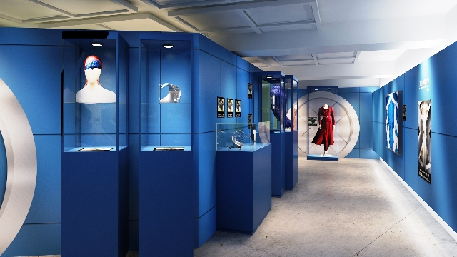 X-Men Filmes Expo – Dos Filmes Para o Museu