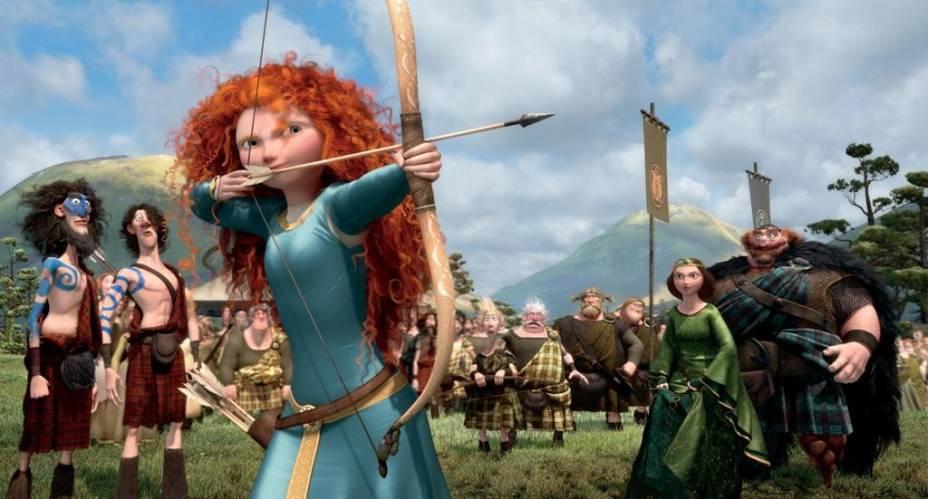 Valente: jovem princesa dispensa a vida de realeza para se tornar arqueira
