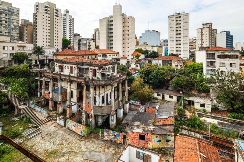 Palacete principal: a recuperação da precária estrutura deve se estender até 2018