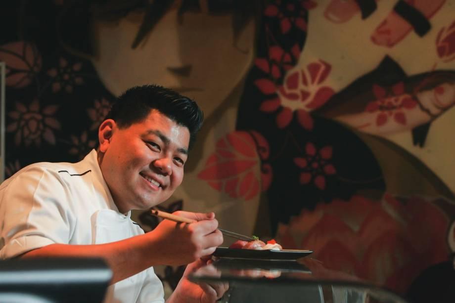 Mori: talento na preparação dos pratos