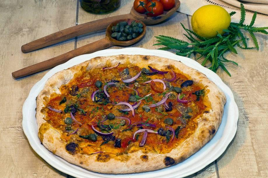 Vulcano: nova pizza da Meime