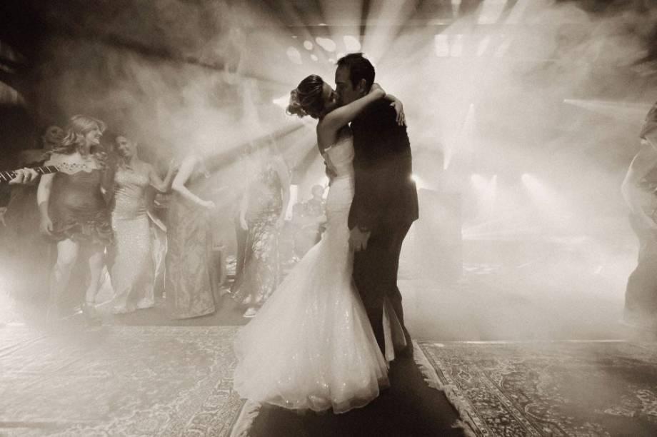 Foto indicada na categoria o beijo, no Wedding Awards 2013