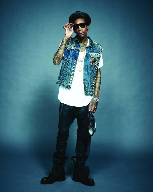 Wiz Khalifa: rapper faz primeiro show no Brasil