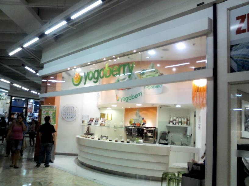 Yogoberry, unidade no Shopping Center Norte
