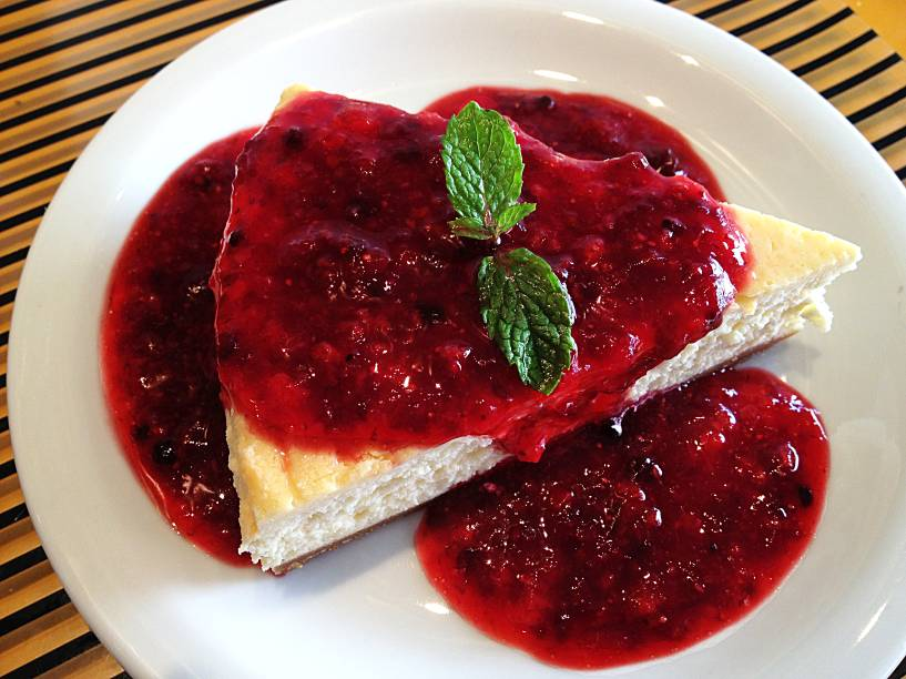 Cheesecake: recheio delicado como uma musse