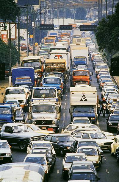 Trânsito - Avenida dos Bandeirantes - 1988