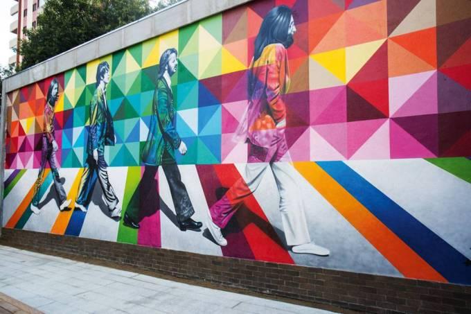 high line grafite