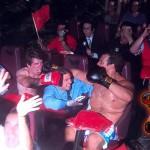 """O da """"luta de boxe"""""""