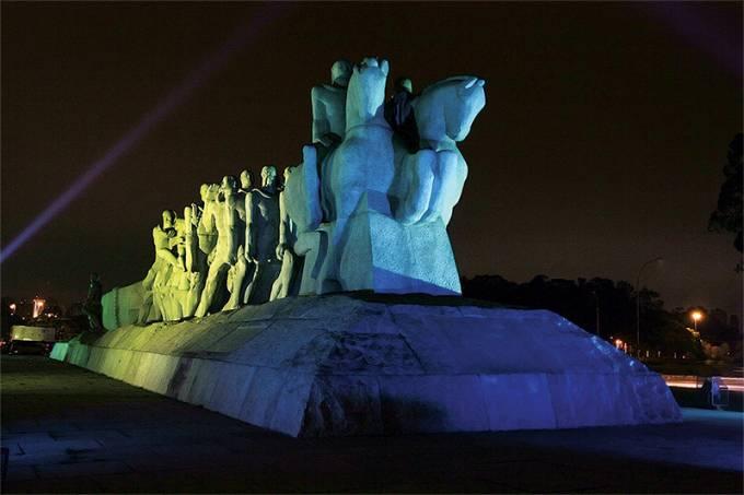 Monumento às Bandeiras – Ibirapuera