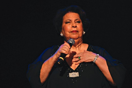 A cantora Nana Caymmi