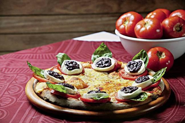 Pizza caprese - Bráz Higienópolis